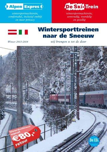 Bekijk PDF brochure - Alpen Expres