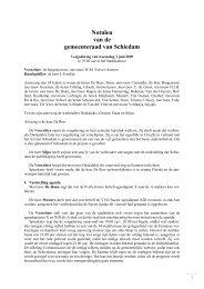 Notulen raadsvergadering d.d. 3 juni 2009 - Gemeente Schiedam