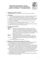 Notulen september 2010 - Wijkraad Scheepmakersdijk