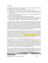 Samenwerkingsprotocol strafrechtelijke aanpak - Huiselijk Geweld