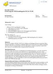 HMS-handlingsplan 2013 for NLSH - Nordlandssykehuset