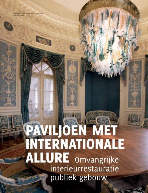 allure O mvangrijke interieurrestauratie publiek gebouw - Ruys
