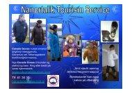 Download 2011 - Nanortalik Tourism Service