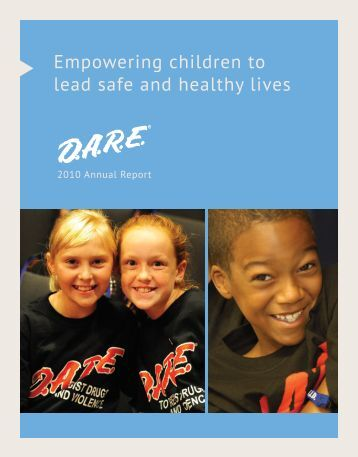 Download the D.A.R.E. 2010 Annual Report as a .pdf