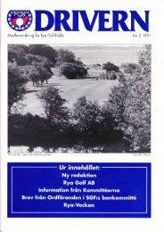 1991-2 - Rya Golfklubb