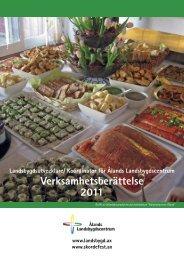 Verksamhetsberättelse 2011.pdf - Ålands Försöksstation