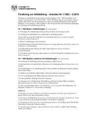 Forskning om folkbildning – årsindex Nr 1/1992 – 2/2010
