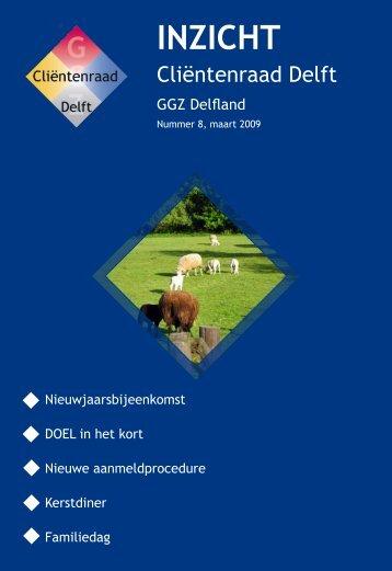 Inzicht nummer 08 – maart 2009 - Cliëntenraad Delft
