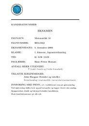 Desember 2006 m. fasit (.pdf) - Ansatt.hig.no