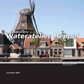 Rapport Wateratelier Meppel - Belvedere