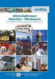 Wirtschaftsraum München – Oberbayern
