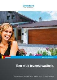 sectionaaldeuren g60 - Brabant Deur