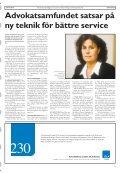 Läs Advokat & kvinna - Advokatsamfundet - Page 5