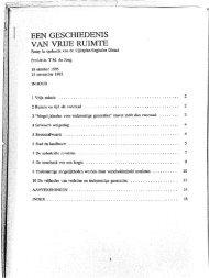 vrije ruimte - TU Delft