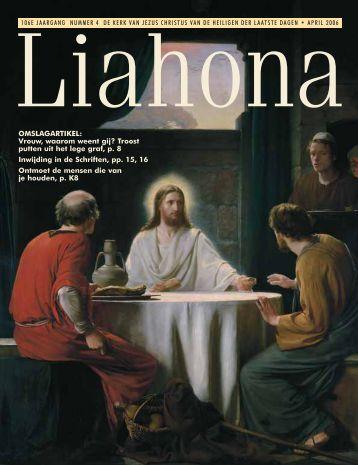 April 2006 Liahona