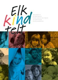 Elk Kind Telt - Vlaanderen.be