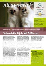 Suikerziekte bij de kat & Dierpas - Welkom bij Sterkliniek de ...