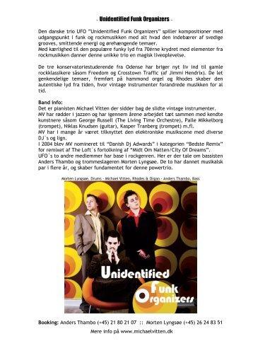 Unidentified Funk Organizers - Michael Vitten