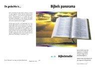 Bijbels panorama - De Hogepriester