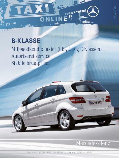 Taxi online 1 10 - Mercedes-Benz Danmark
