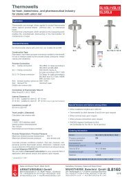 8.8160 - Pressure gauges and thermometers