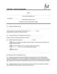 Kontraktsförslag - FST