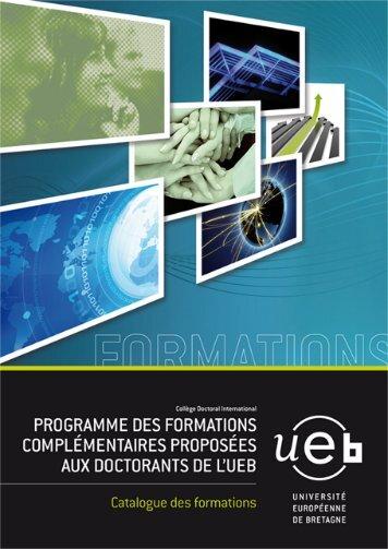 Télécharger le guide des formations pour doctorants - UEB