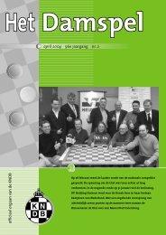 HD 0402 - Het Damspel - Koninklijke Nederlandse Dambond