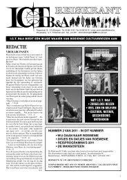 Reiskrant 2011 nr 2 - Welkom bij InterCultuurTravel A. Lutters