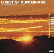 CHRISTINE AUFDERHAAR - Film-Dienst