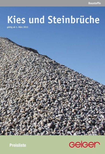 Genial Steinbrüche