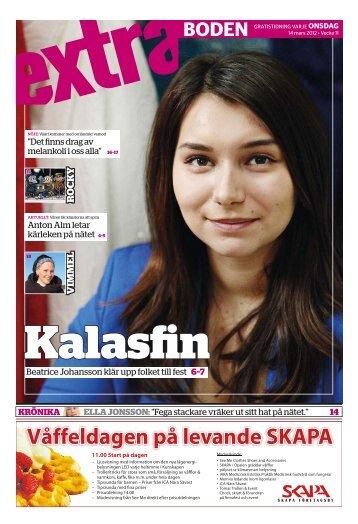 Våffeldagen på levande SKAPA - Tidningen Extra