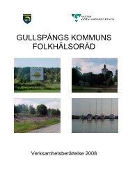 GULLSPÅNGS KOMMUNS FOLKHÄLSORÅD