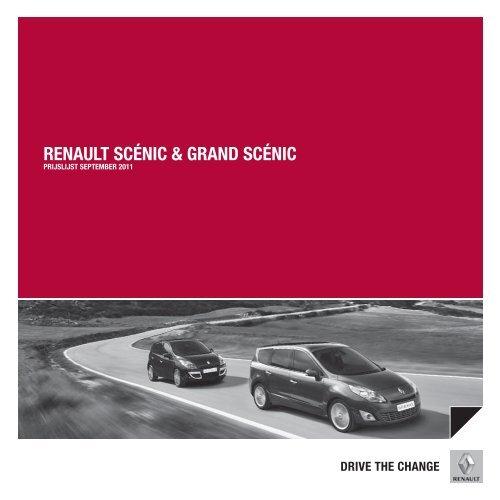RENAULT SCÉNIC & GRAND SCÉNIC - Autohaag Zeeuw
