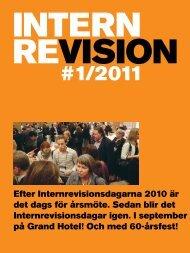 #1/2011 - Internrevisorerna - Hem