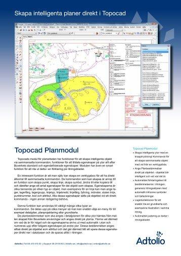 Topocad Plan - Adtollo