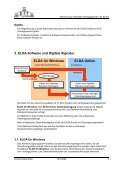 Handbuch für Datenfernübertragung der Abrechnungen für ... - ELDA - Seite 3