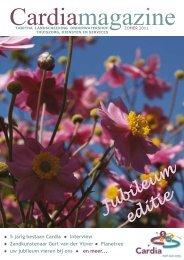 Cardia Magazine van zomer 2011