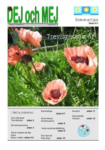 Juni-juli 2011 - Franstorps verkstäder