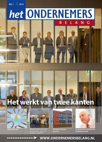 Het Ondernemersbelang, Twente & Salland, nr.1 - IFOH