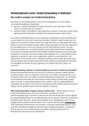 factsheet MDC-K - Huiselijk Geweld