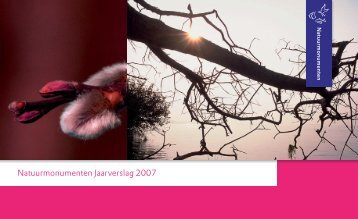 Jaarverslag Natuurmonumenten 2007 - CBF