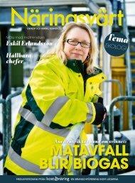 MATAVFALL BLIR BIOGAS Åsa Rensvik tar hand ... - Kost & Näring