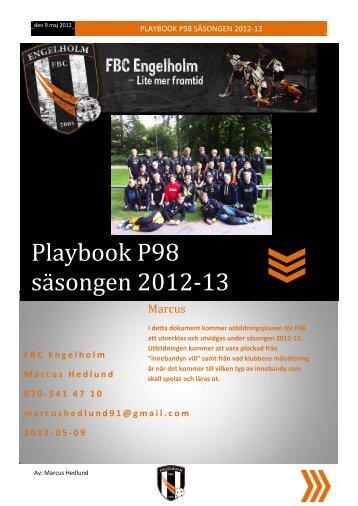 Playbook P98 säsongen 2012-13 - Svenskalag.se