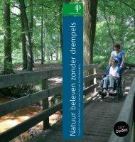 folder Natuur beleven zonder drempels - Staatsbosbeheer