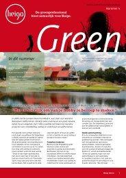 Nieuwsbrief green 4 - Heigo