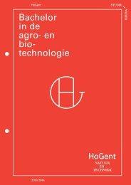 Brochure downloaden - Hogeschool Gent