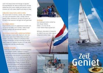 Zeil & Geniet - Norbert Huijzer Consultancy - Home