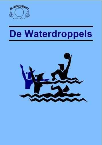 Nieuwe trainers - De Waterdroppels
