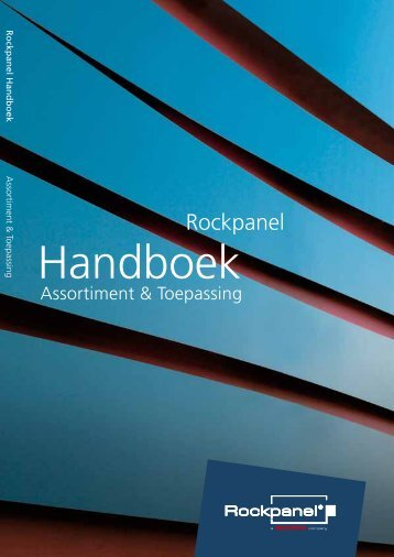 ROCKPANEL Handboek; Assortiment & Toepassing